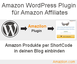 Amazilon - Amazon Affiliate Plugin